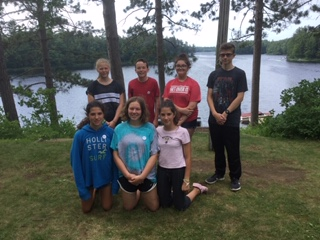 The FFA members Had A Great Time At Summer Camp From 6/30-7/5!