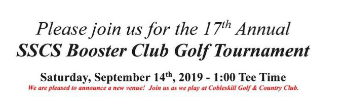 SSCS Booster Club Golf Tournament